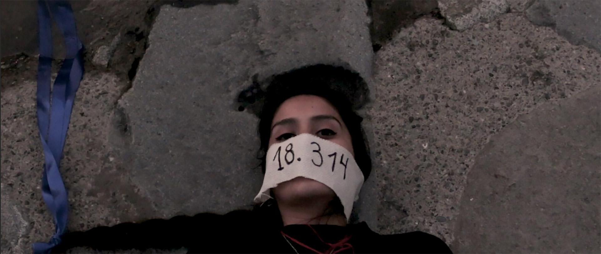 Intervention Mapuche – Oeuvre 18.314: Mari pura warangka küla pataka mari meli