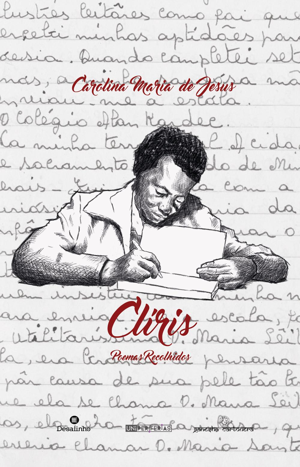 Capa Clíris: Poemas recolhidos de Carolina Maria de Jesus